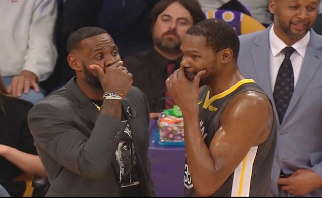 Why Do NBA Players Cover Their Mouths When They Talk?